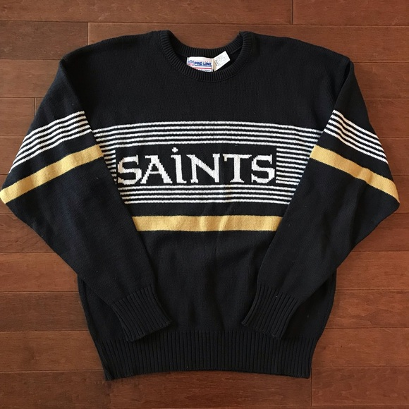 detailed look 11b23 65c77 Cliff Engle 1980's New Orleans Saints Sweater